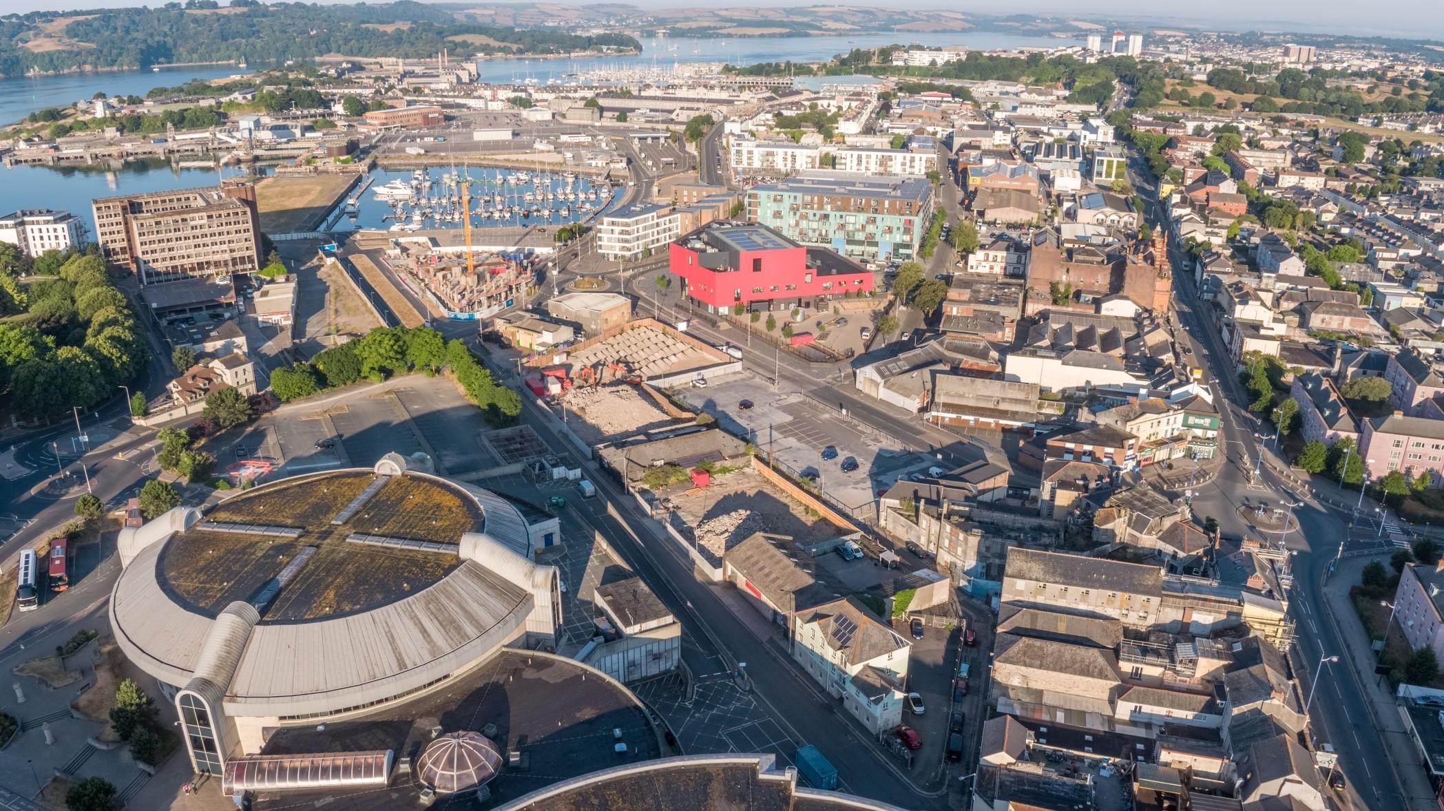 Millbay Aerial from Richard Bara